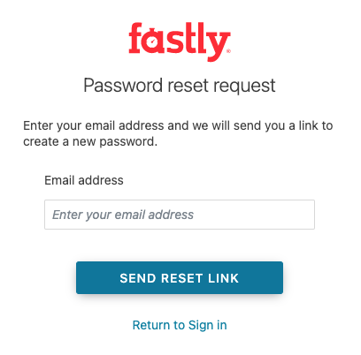 the Reset Password Controls