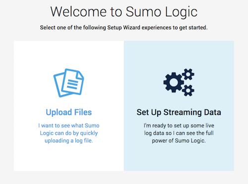 Sumo Logic Setup Wizard